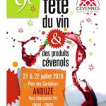 Anduze : neuvième  édition de la Fête des vins les 21 et 22 juillet
