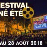 Sixième édition du festival Ciné été du 23 au 28 août