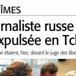 Nîmes : une journaliste russe conteste son expulsion