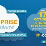 Nîmes : 3e forum Créer son entreprise en toute sérénité, le 17 octobre