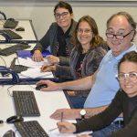 Atelier image au lycée CCI Gard avec Philippe Ibars