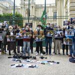 Nîmes : Une cinquantaine de journalistes manifestent contre l'article 24 de la Loi Sécurité globale