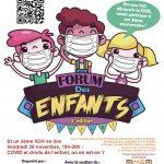#Communiqué Forum des enfants 2020 – 4ème édition