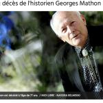 Hommage à Georges Mathon