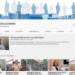 470 551 vues sur la chaîne YouTube du CHU Nîmes